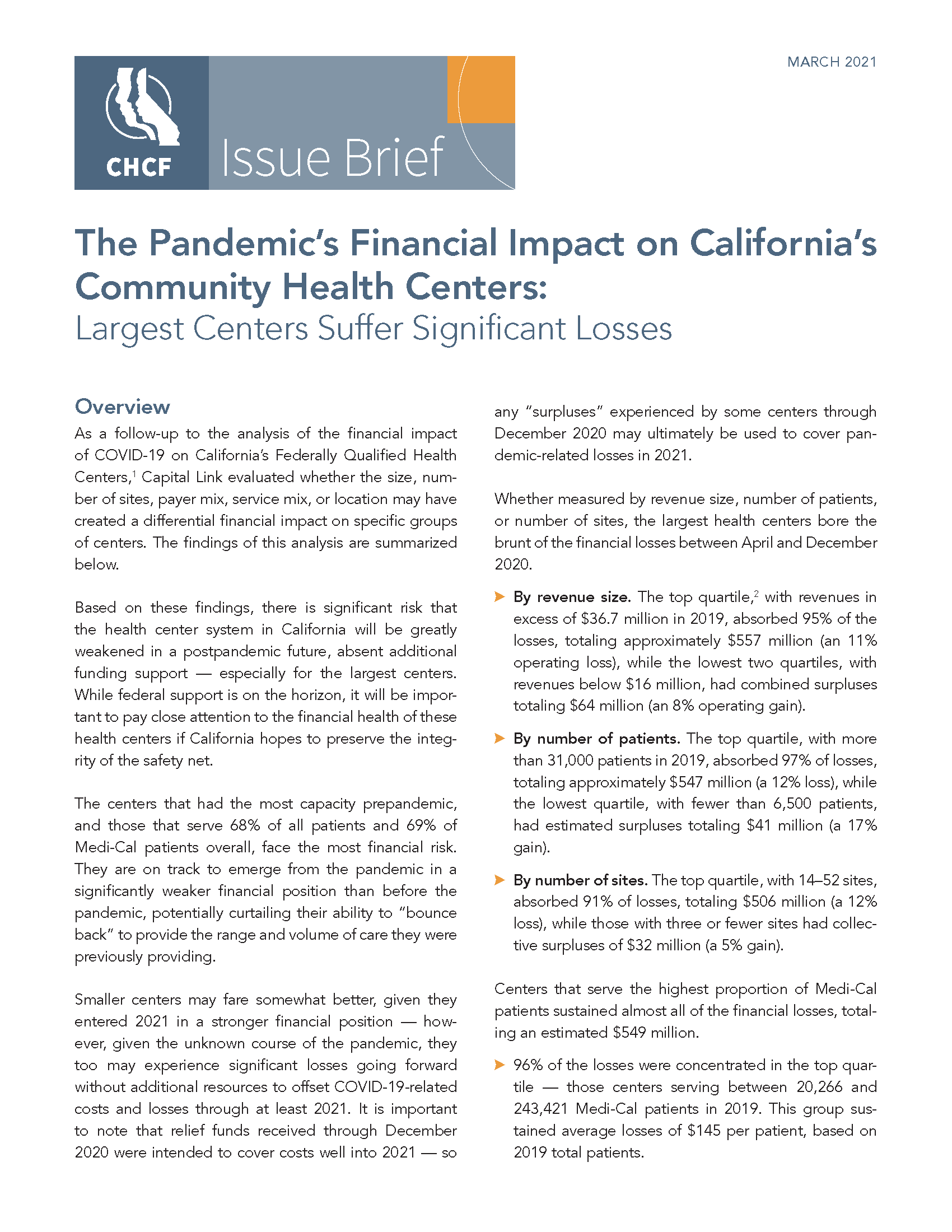 Pages from PandemicsFinancialImpactCaliforniasCommunityHealthCenters